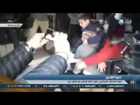 Palestinian Lady Beats Female Israeli Soldier