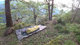 Uralte Bauten und Übernachtung auf Felsen tief im Schwarzwald Teil1
