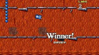 DOS Game: Micro Machines 2