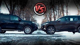 "Toyota Land Cruiser Prado VS Mitsubishi Pajero Sport. ""2 Лошадиные силы"""