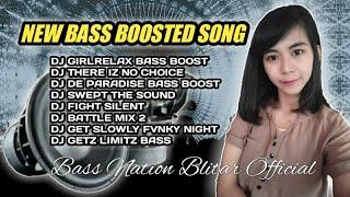 DJ SUBWOOFER BASS TEST || GIRL RELAX DJ FULL BASS GLERR TERBARU 2021 FULL ALBUM