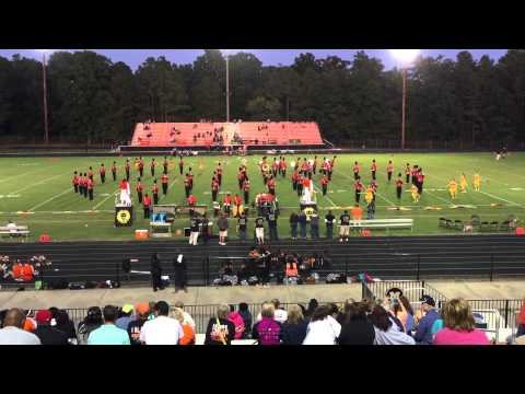 "Monacan High School Marching Chiefs 2015 - ""The Lion King"""