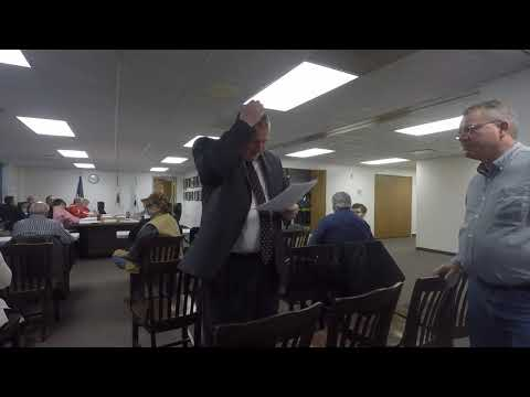 Told To Stop Recording Effingham County Board Meeting 12/18/2017