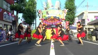 パピヨンキッズダンスのチームの皆さん。 *日高おんもさ祭り.