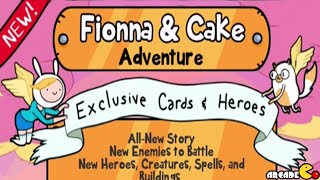 Card Wars Adventure Time Card Game: Fionna and Cake New Adventure Quest 1-3!