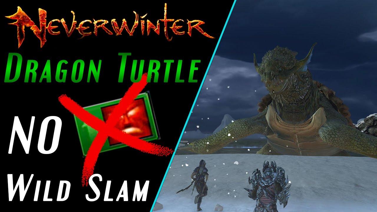 Neverwinter: FangBreaker Island -  Dragon Turtle Guide (No Wild Slam Method)