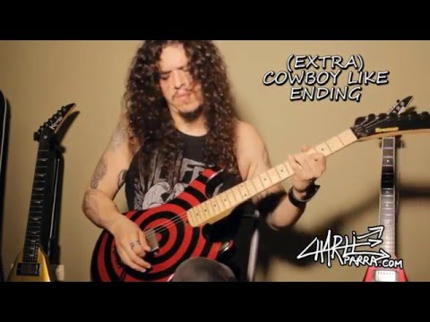 Charlie Parra - 10 guitar techniques in GLAM METAL / HARD ROCK in one solo!!!