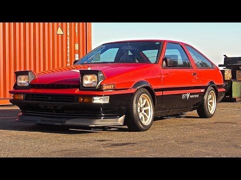 1986 Toyota Sprinter Trueno Ae86 Usa Import Japan