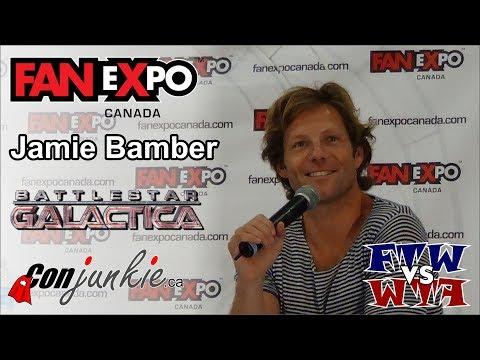Battlestar Galactica  Jamie Bamber  Toronto  eXpo 2012 Full Panel