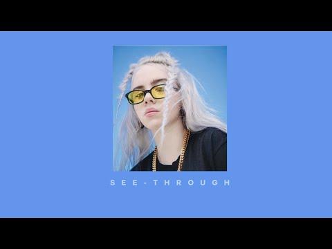 Billie Eilish - See Through (lyric Video)