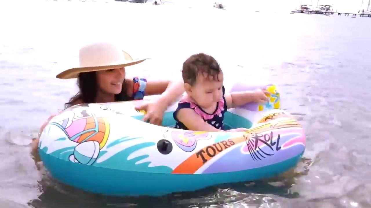 Çocuk videoları. Denizde eğlenceli oyunlar