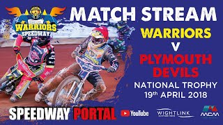 Isle of Wight 'Wightlink Warriors' vs Plymouth 'Devils' : National Trophy : 19/04/2018