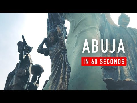 ABUJA in 60 Seconds - Shot on the iPhone X!