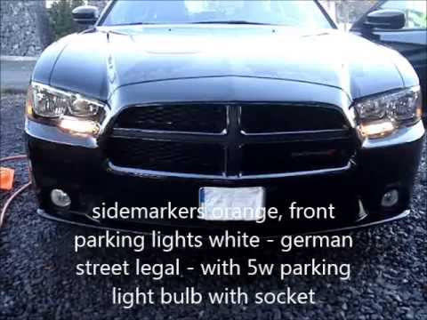 2012 Dodge Charger Front Lights Mod Conversion for Germany - German ...