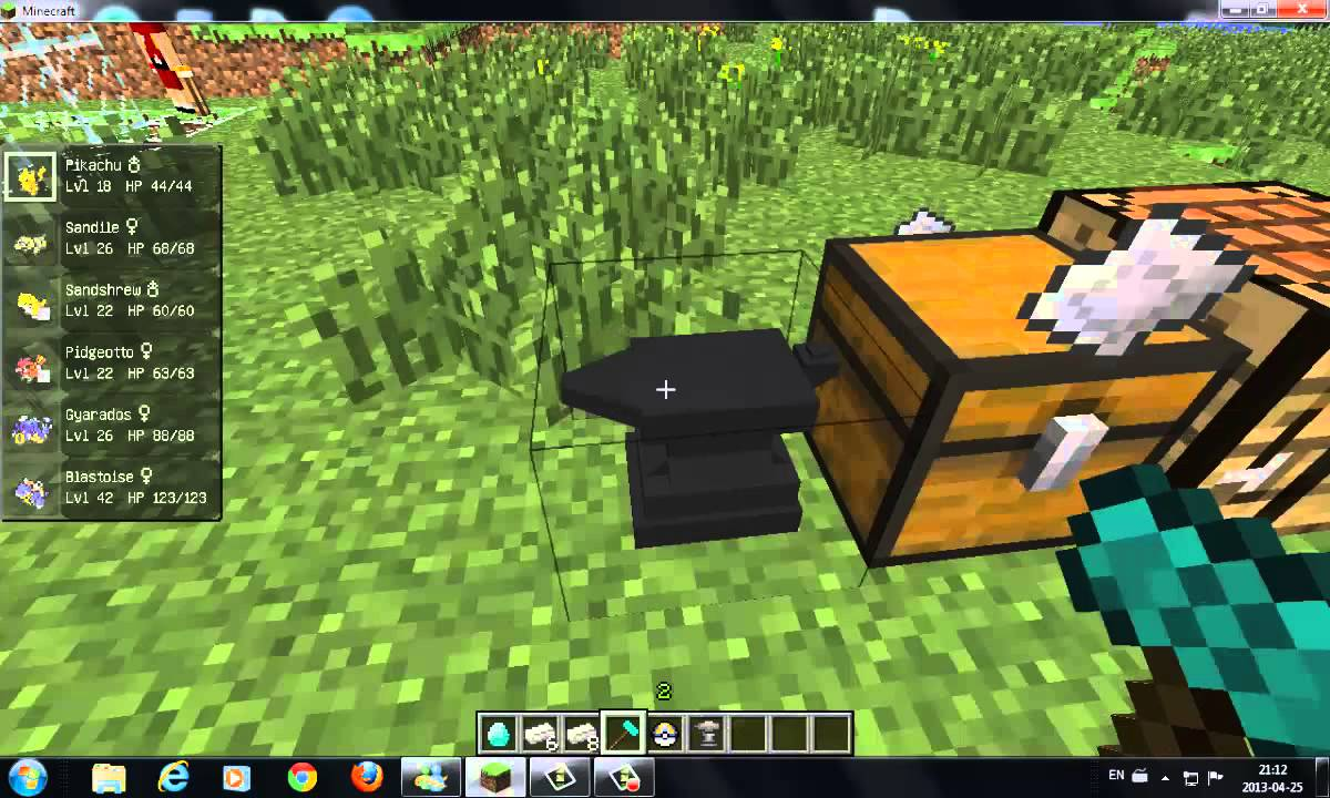 How To Make A Healing Machine In Pixelmon Youtube