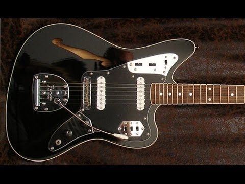 vintage guitar club : fender jaguar thinline japan de 2013 - youtube
