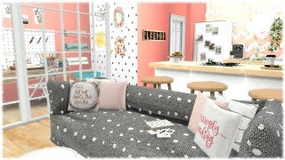 The Sims 4: Speed Build // PINTEREST APARTMENT + CC SPEED BUILD