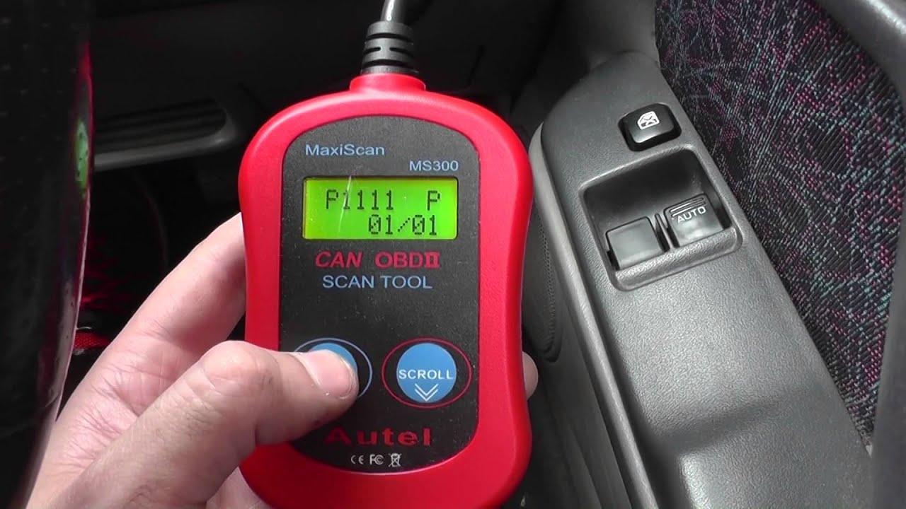 Nissan Control Solenoid Valve Fault Diagnostic Code P1111
