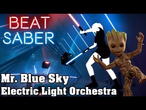 Beat Saber - Mr. Blue Sky - Electric Light Orchestra (custom song) | FC
