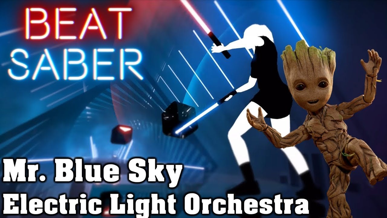 Beat Saber Mr Blue Sky Electric Light Orchestra Custom Song