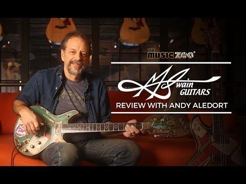 Andy Aledort Reviews McSwain Guitars At The Music Zoo!