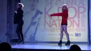 131117 K-Nation 4 Troublemaker + Now (Troublemaker) - Dianne & Aaron