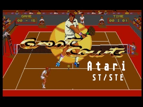 Great Courts (Pro Tennis Tour) - Atari ST (1989)
