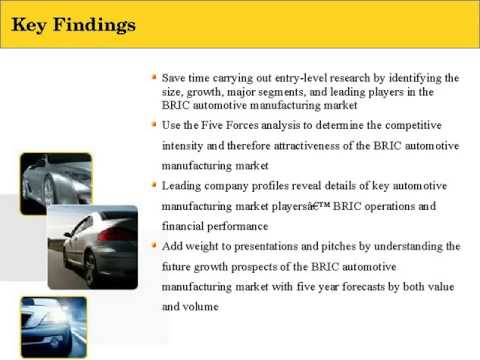 Automotive manufacturing Industry in India