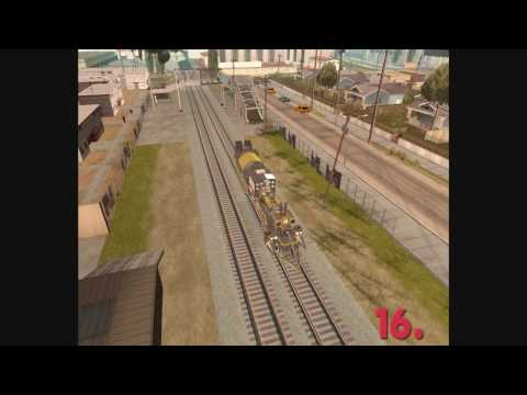 Time Train in GTA: San Andreas(Video 1)