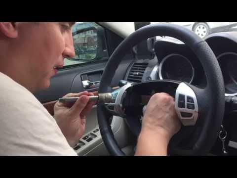 Замена под рулевого шлейфа (улитка) на Mitsubishi Lancer X