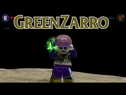 LEGO Batman 3: Beyond Gotham - Greenzarro Free Roam ...