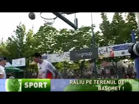 Stiri BCR Leasing Rally Team -  la baschet @ streetball sports arena