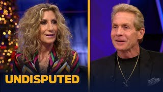 Skip's wife ernestine sclafani bayless joins today's show to explain why it been 'sheer hell' coping and living with skip during the dallas cowboys rollercoa...