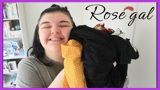 ROSEGAL PLUS SIZE FASHION HAUL, TRY ON & REVIEW! | Chloe Benson