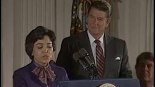 Full Title: President Reagan's Remark at a Kick-Off for Hispanic He...