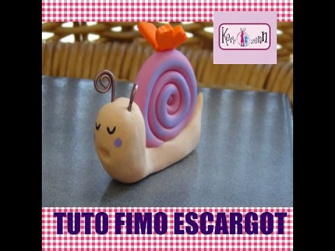 tuto fimo polymere facile escargot en pate polymere youtube. Black Bedroom Furniture Sets. Home Design Ideas