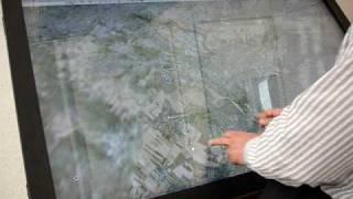 Multi touch интерактивный стол 57