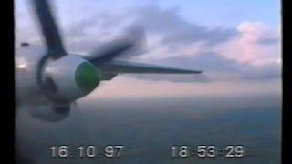 Ан-8 Полеты в Африке (Республика Конго) 1997 год