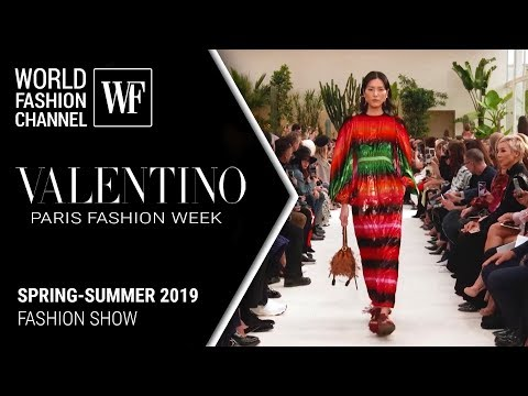 Valentino spring-summer 2019 Paris fashion week