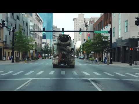 Driving Around Lexington, Kentucky - Downtown - Time-lapse Video