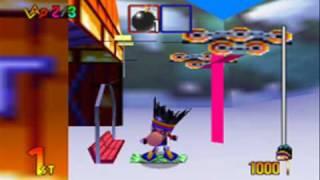 Snowboard Kids 2 (N64) Gameplay