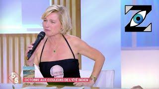 [Zap Télé] A-E. Lemoine en maillot de bain sur le plateau de C à vous suite à un pari ! (20/10/21)