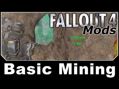 Fallout 4 Mods - Basic Mining