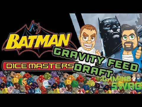Dice Masters - DC Comics Batman Gravity Feed Draft - Gaming With Swag