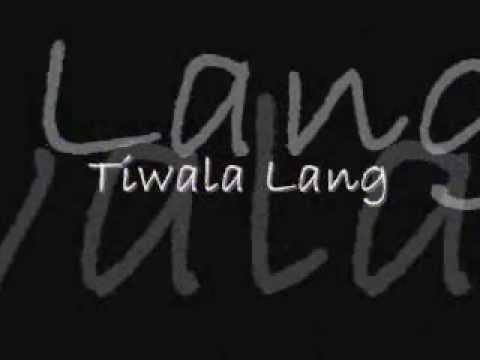 Tiwala Lang (Lyrics) by J.  Lo Smoke