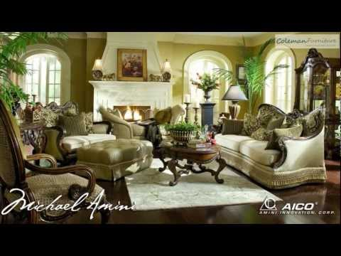 Chateau Beauvais Living Room Collection From Aico Furniture