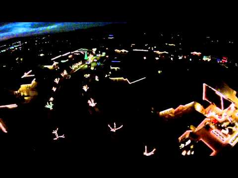 All I want for Christmas light show drone...