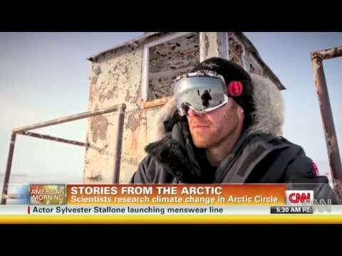 Cousteau reports from Arctic ice base