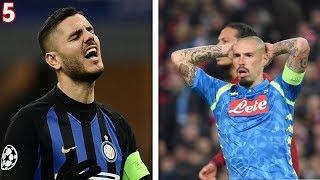 Top 5 DELUSIONI delle ITALIANE in Champions League !!!