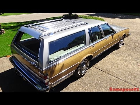 1983 Buick Electra Estate Luxury Station Wagon - Classic Car Tour & Ride - Samspace81